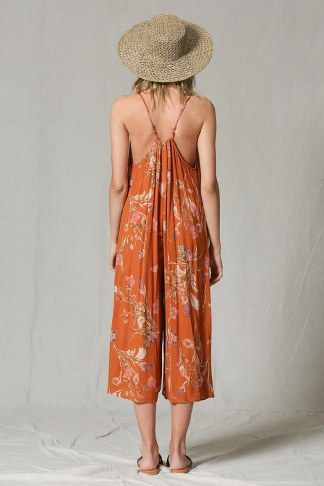 By Together Wide-Leg Printed Jumpsuit - Side Cropped Image