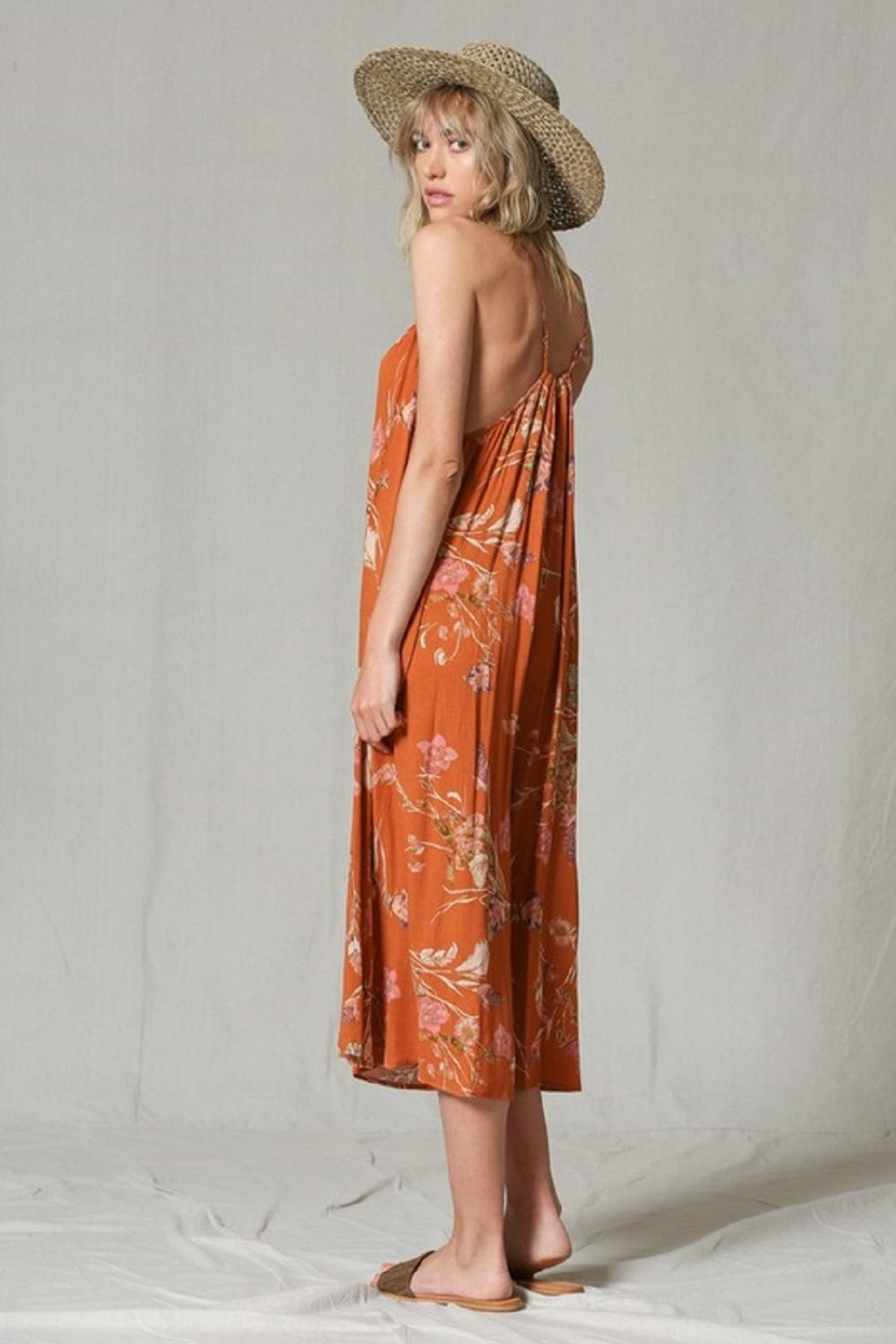 By Together Wide-Leg Printed Jumpsuit - Front Full Image