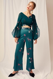 Keepsake Wide-Leg Silky Pant - Product Mini Image