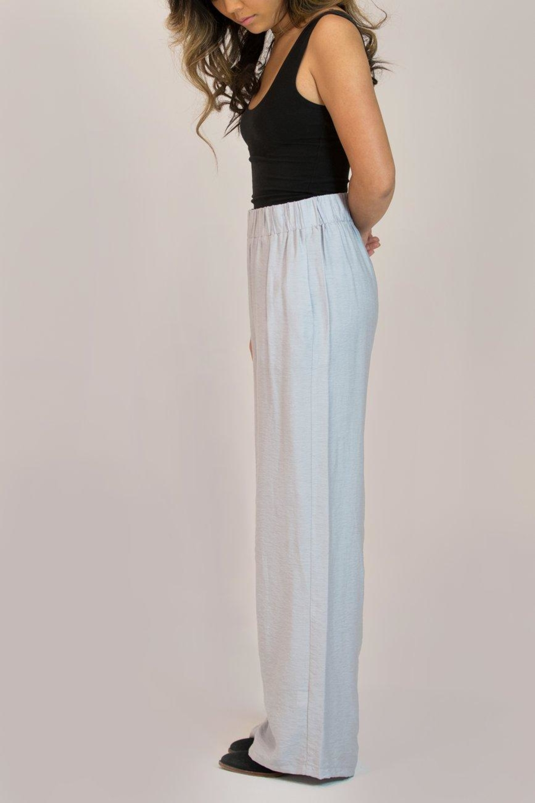 Glam Wide Leg Trouser - Back Cropped Image
