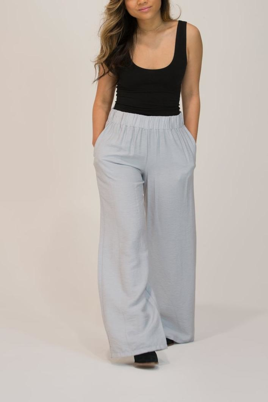 Glam Wide Leg Trouser - Main Image