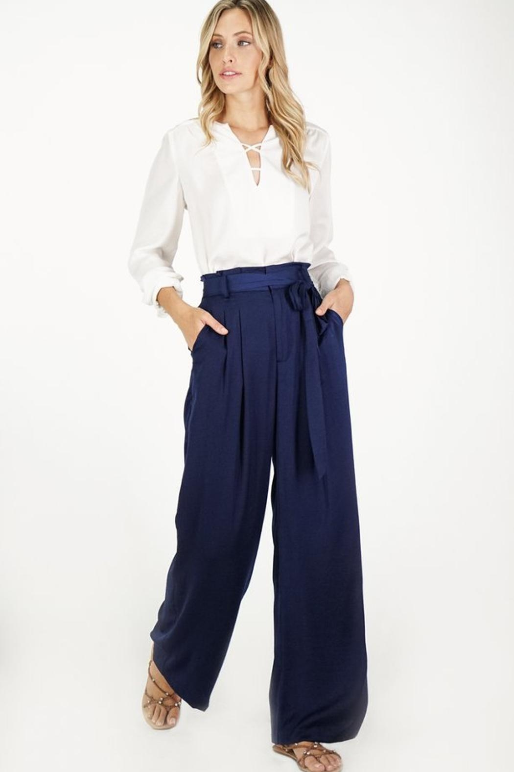 Greylin Wide Leg Trouser - Main Image