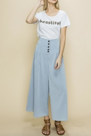 Glam Wide Leg Trouser - Product Mini Image