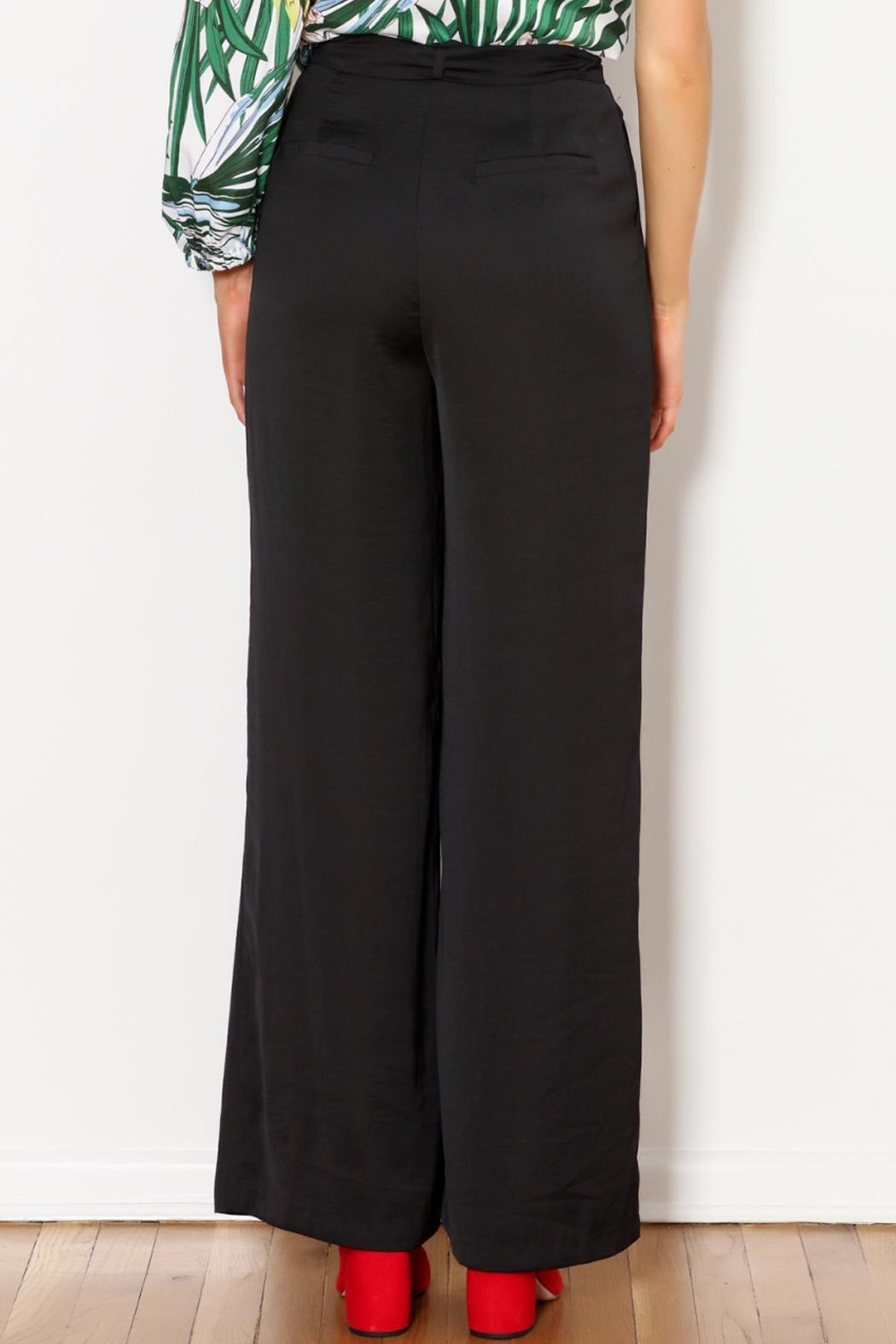 Greylin Wide Leg Trouser - Side Cropped Image