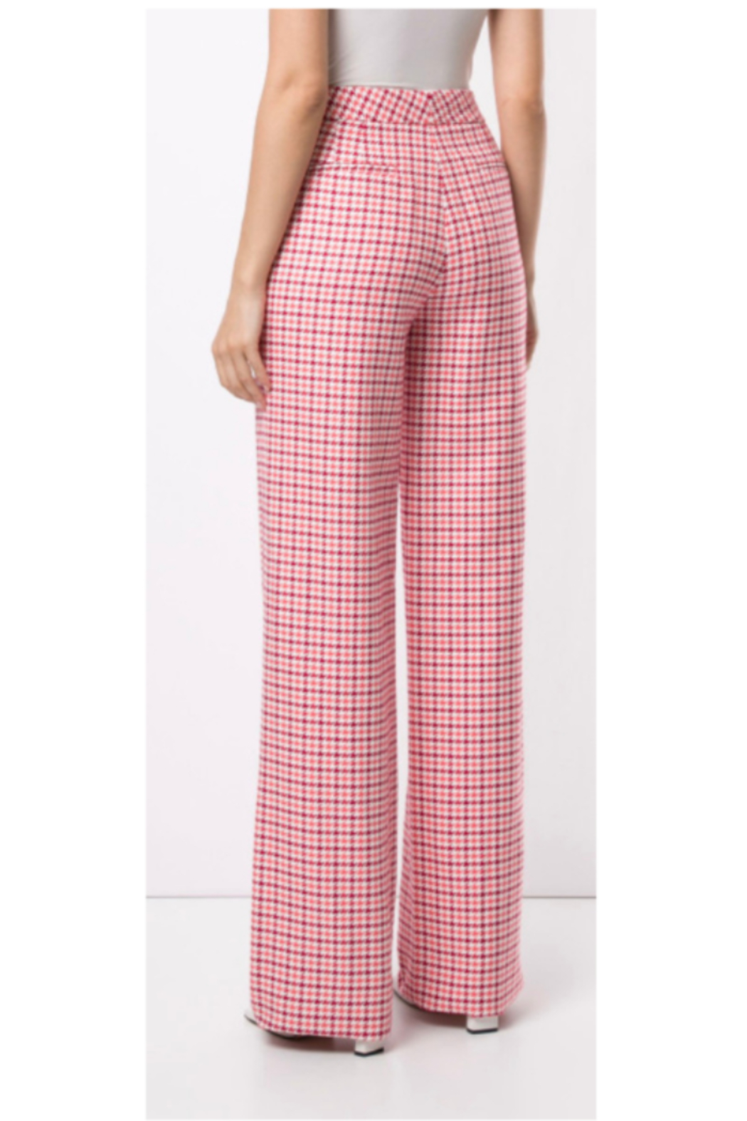 Adam Lippes WIDE LEG TROUSER - Front Full Image