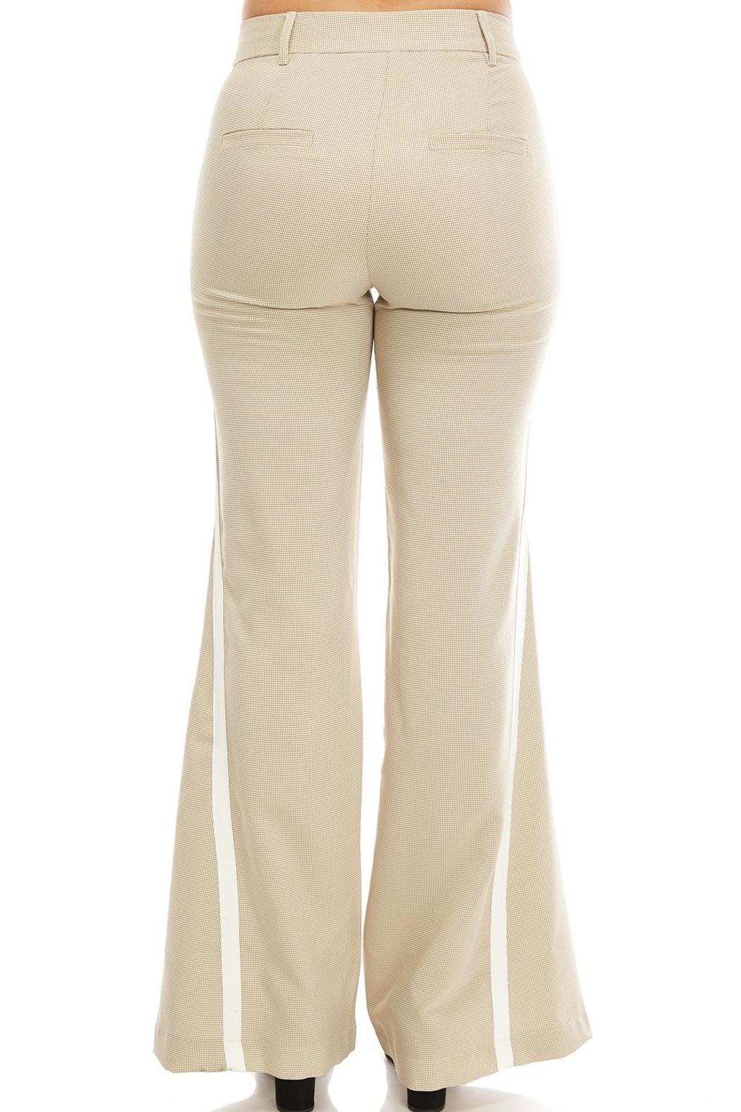On Twelfth Wide Leg Trouser - Side Cropped Image
