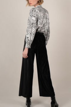 Molly Bracken Wide Leg Velvet Pants - Alternate List Image