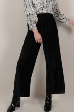 Molly Bracken Wide Leg Velvet Pants - Product List Image