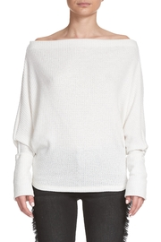 Elan Wide Neck Sweater - Product Mini Image
