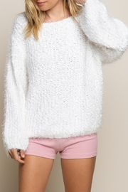 POL  Wide Neck Sweater - Product Mini Image