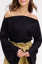 Listicle Wide Neck Top - Product Mini Image