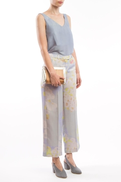 Shoptiques Product: Wide Pants Grey-Print