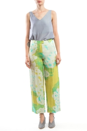 Clara Kaesdorf Wide Pants Yellow-Print - Product Mini Image
