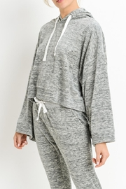 Mono B Wide Sleeve Hoodie - Front cropped