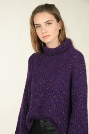 Molly Bracken Wide Sleeve Knit Sweater - Product Mini Image