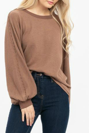 LoveRiche Wide sleeve top - Front cropped