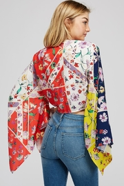 Hot & Delicious Wide Sleeve Top - Back cropped