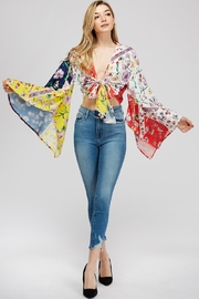 Hot & Delicious Wide Sleeve Top - Front cropped