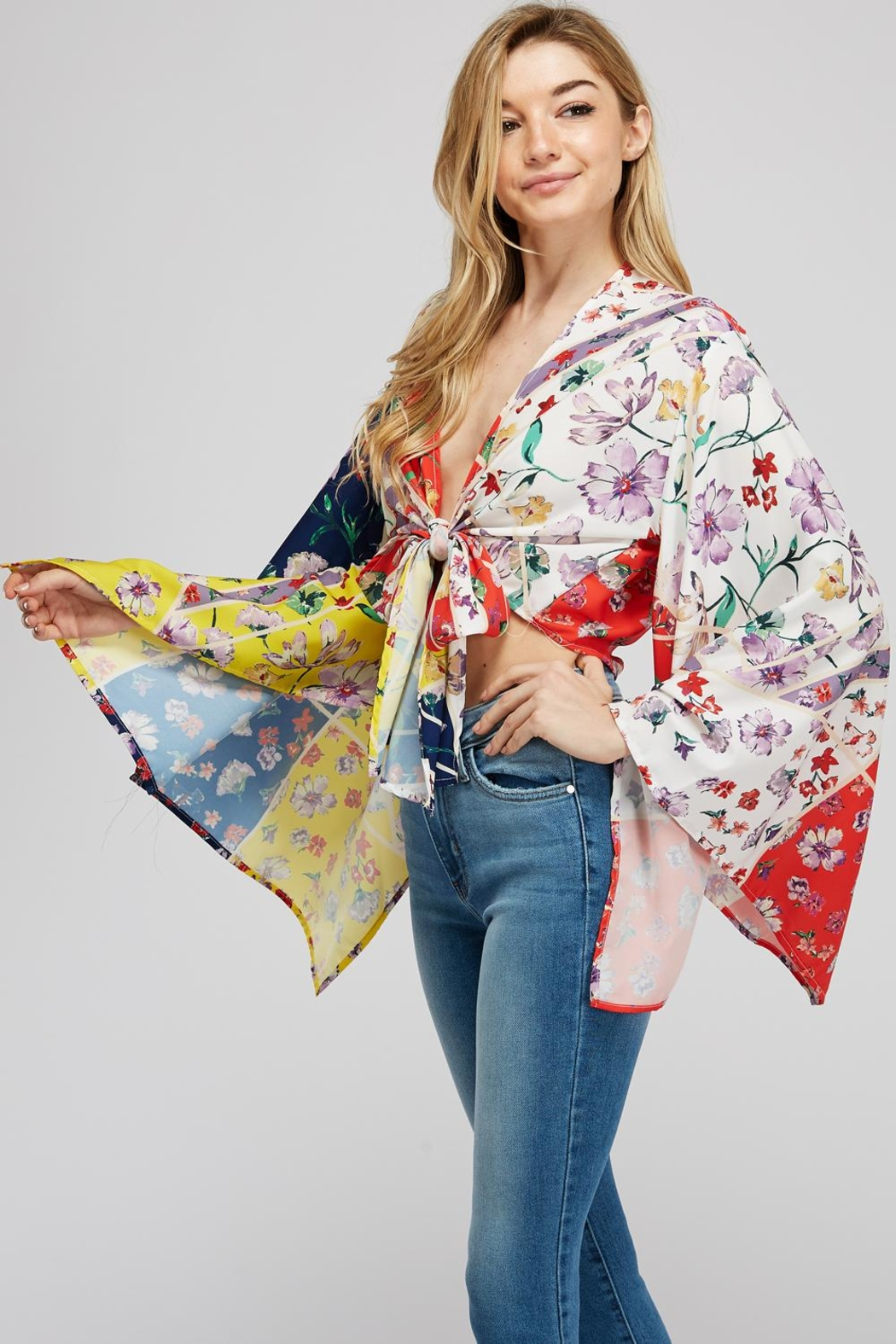 Hot & Delicious Wide Sleeve Top - Front Full Image