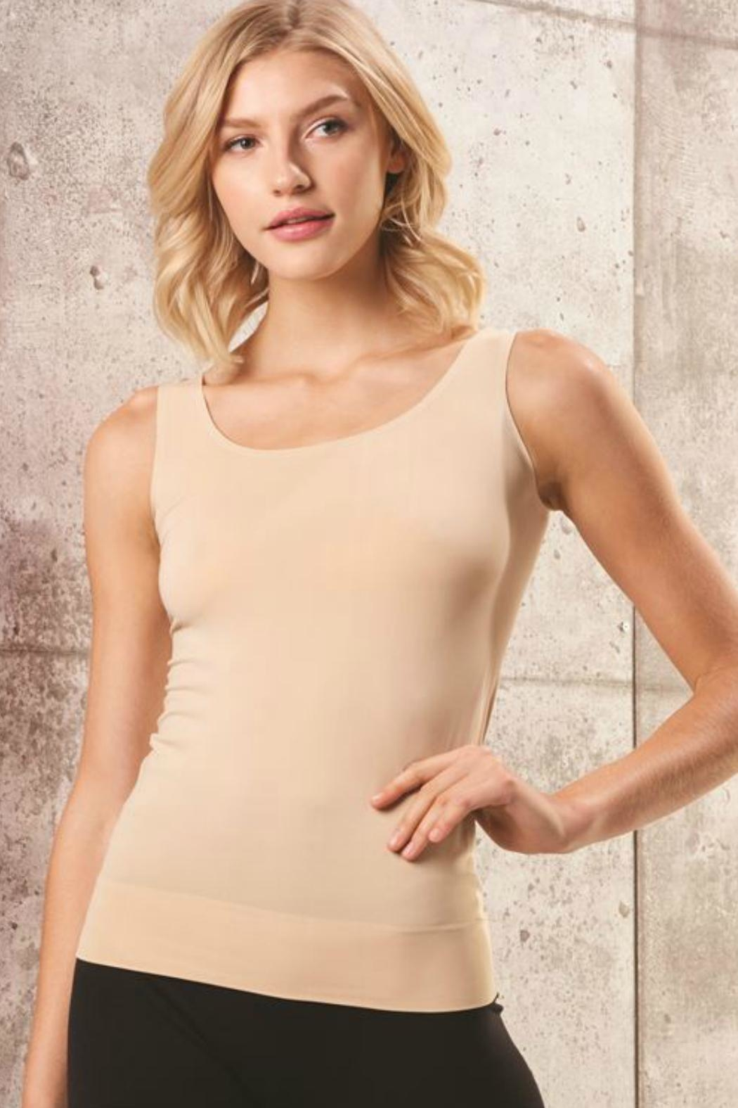 Charlie Paige Wide Strap Cami - Front Cropped Image