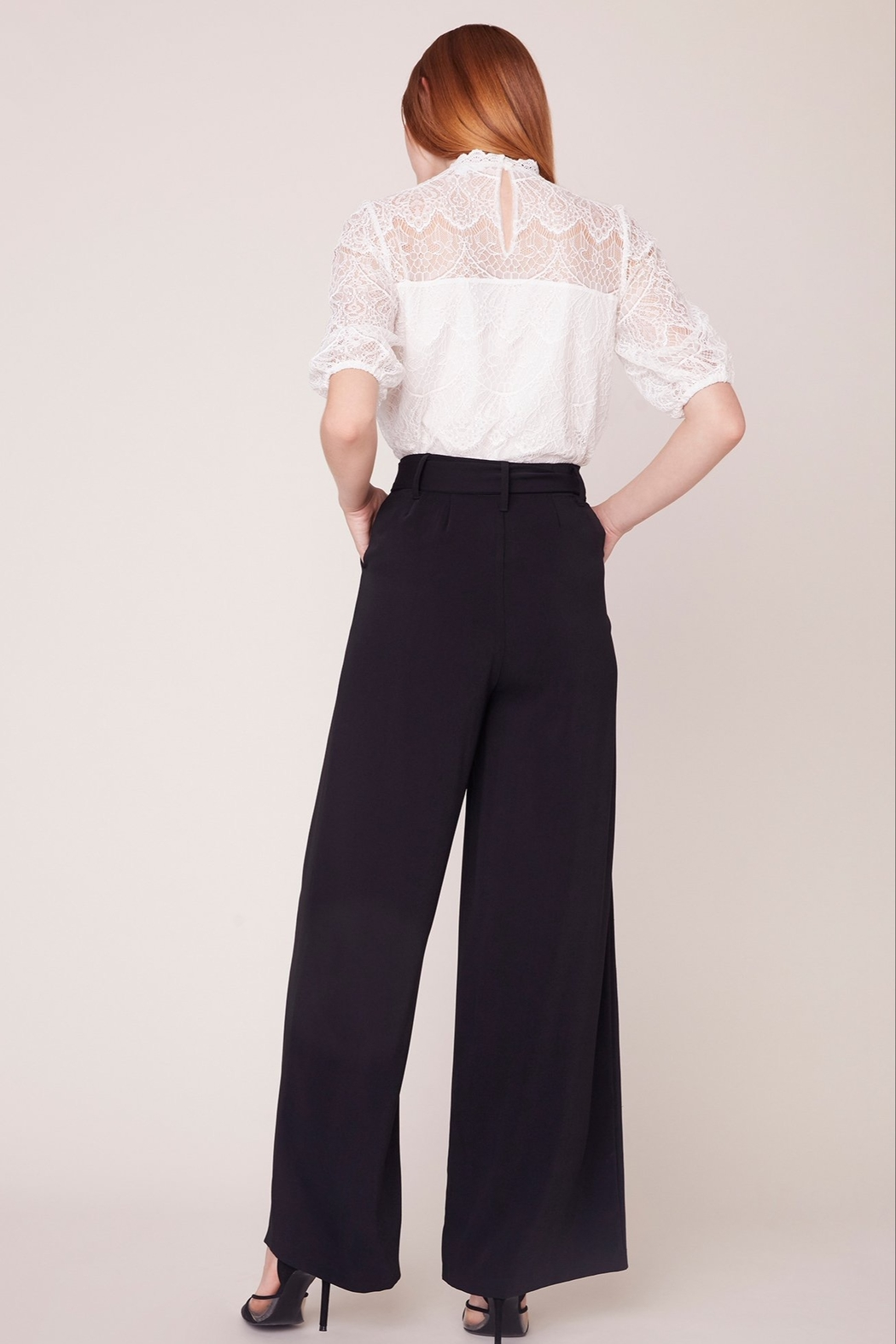 BB Dakota Wide Stride Pant - Side Cropped Image
