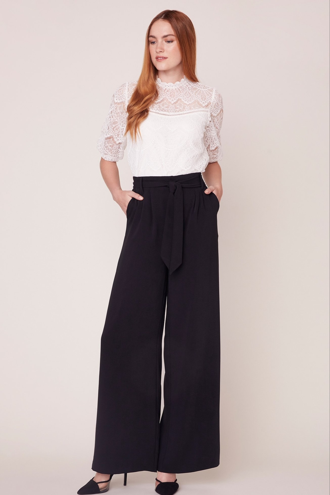 BB Dakota Wide Stride Pant - Back Cropped Image