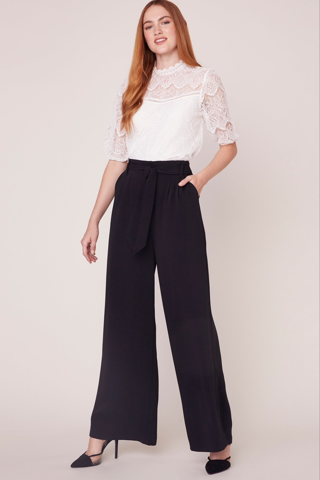 BB Dakota Wide Stride Pant - Front Cropped Image