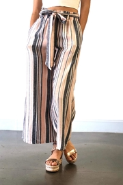 Final Touch Wide Stripe Pants - Product Mini Image