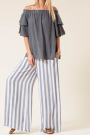 Love in  Wide Stripe Pants - Product Mini Image