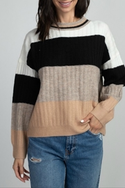 Dreamers Wide Stripe Sweater - Product Mini Image