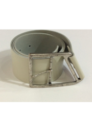 DiJore Wide Taupe/Grey leather belt - Product Mini Image