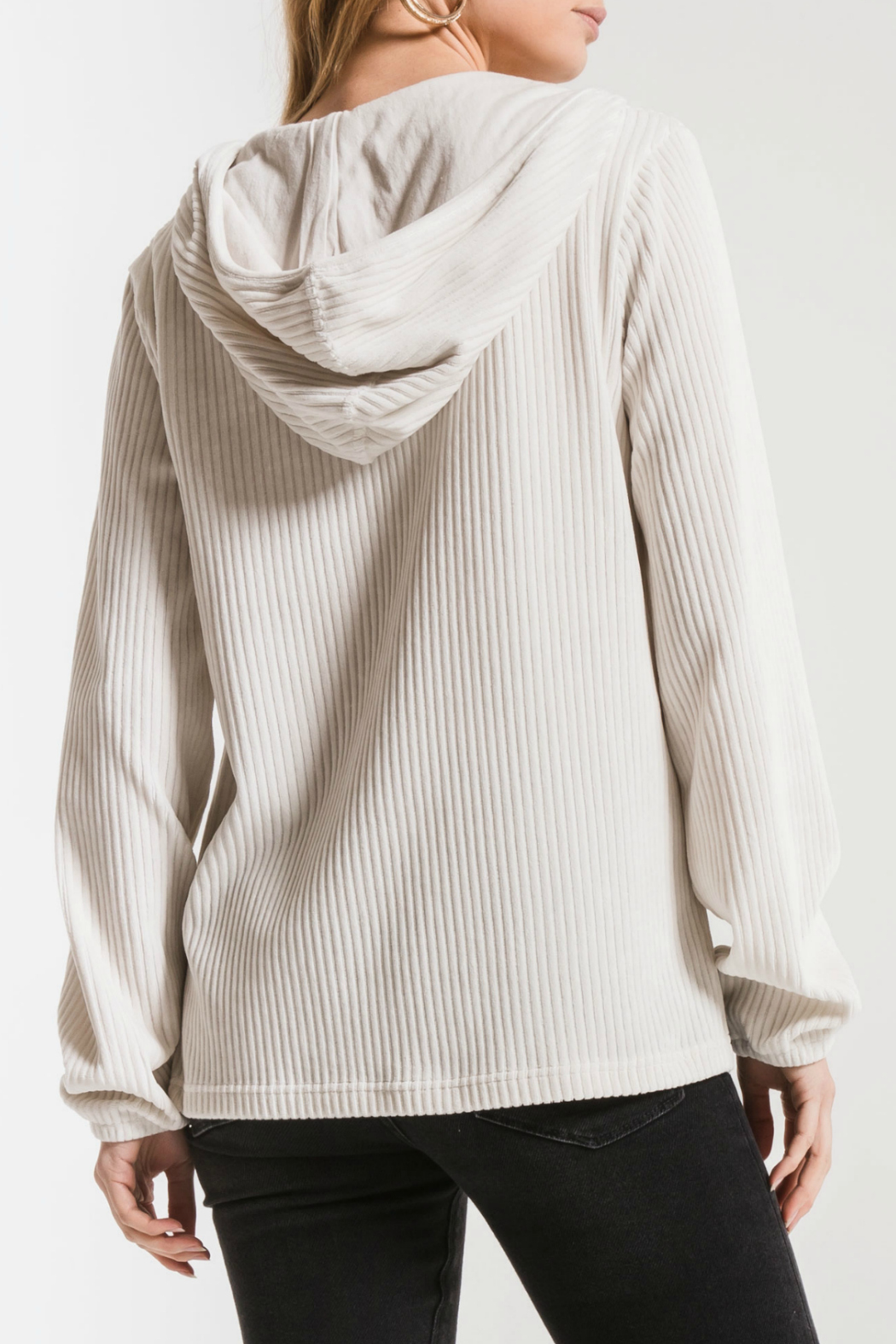 z supply Wide Wale Corduroy Pullover - Side Cropped Image