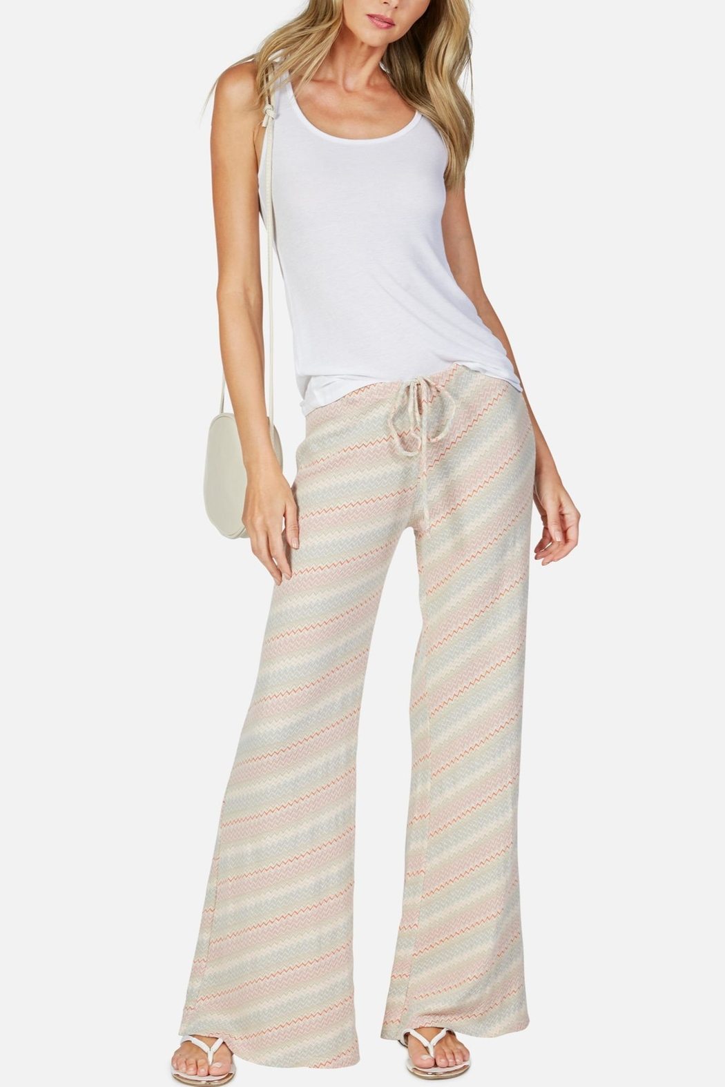 Michael Lauren Wideleg Barto Pant - Front Cropped Image