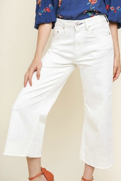 Shoptiques Product: Wideleg Cropped Jean