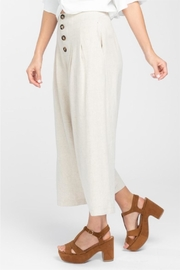 Everly Wideleg Cropped Pant - Side cropped