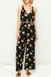 Mystree Wideleg Jump Suit - Front cropped