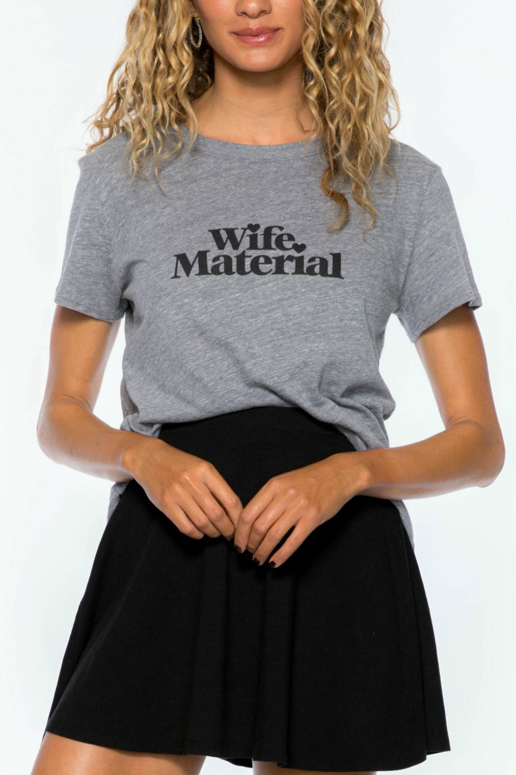 c678aa5aeb0 Suburban riot Wife Material Tee from New Jersey by Back 2 Basics ...
