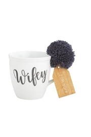 Mud Pie Wifey Mug - Product Mini Image
