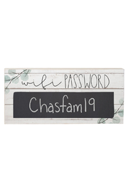 Sincere Surroundings  Wifi Password sign - Product Mini Image