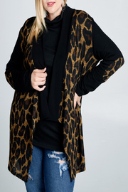 Oddi Wild Animal Cardi - Product Mini Image