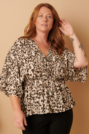 Mittoshop Wild At Heart Blouse - Product Mini Image