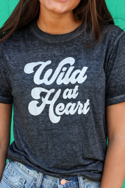 Nellie Mae Wild at Heart tee - Front cropped