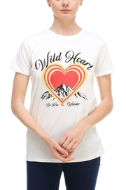 Tres Bien Wild-At-Heart Tee - Front cropped