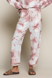 POL Wild Berry Tie Dye Joggers - Product Mini Image