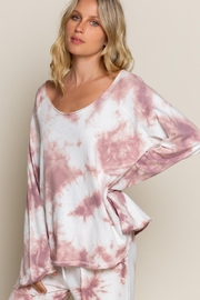 POL Wild Berry Tie Dye Top - Product Mini Image