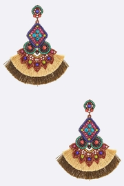 ADRIANA JEWERLY Wild Child Earrings - Front cropped