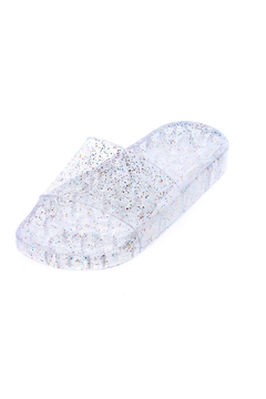 Shoptiques Product: Jelly Glitter Slide