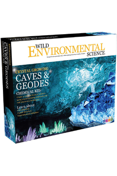 Learning Advantage Wild Environmental Science: Crystal Growing Caves & Geodes Chemical Kit - Product List Image