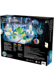 Learning Advantage Wild Environmental Science: Crystal Growing Caves & Geodes Chemical Kit - Side cropped