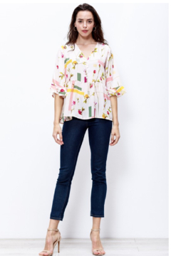 MTS Wild Flower Blouse - Alternate List Image